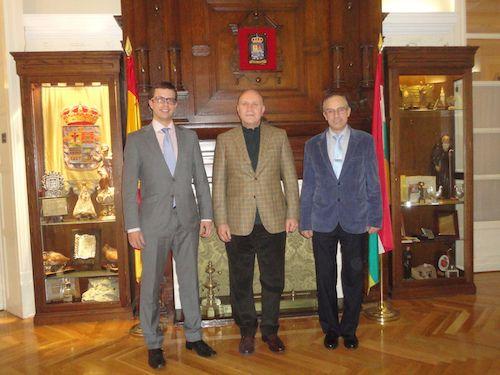 Visita del Embajador de Serbia, Danko Prokic.