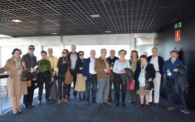 Visita al Faro de la Moncloa el 13 de Marzo