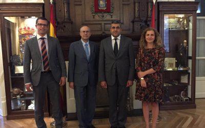 Visita del Sr. Embajador de Georgia y nuevo Secretario General de la Organización Mundial del Turismo (OMT)