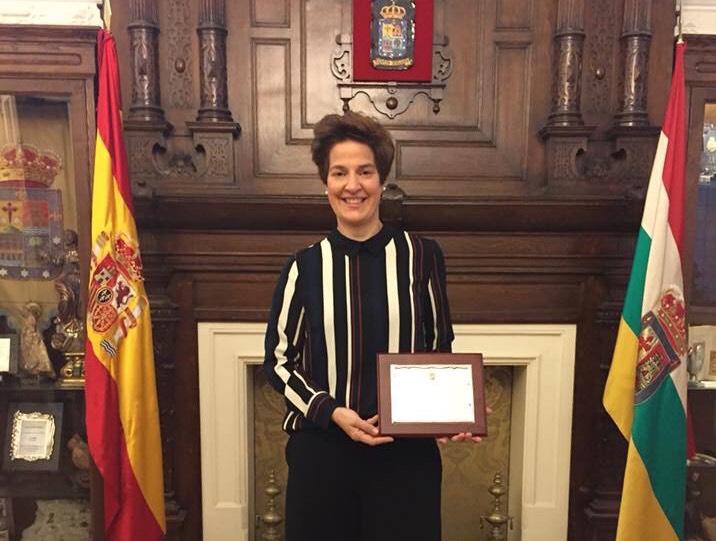 LA ENÓLOGA JARRERA MARÍA VARGAS, PREMIO A LAS CIENCIAS DEL CENTRO RIOJANO DE MADRID