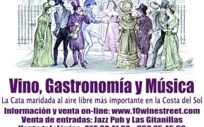 VIno, Gastronomía y Música en Estepona en Colaboración con el Centro Riojano de Madrid