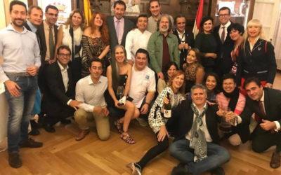 """PRIMERA EDICIÓN DE LA """"CATA GUIÑO A LA HISPANIDAD DEL CENTRO RIOJANO DE MADRID"""""""