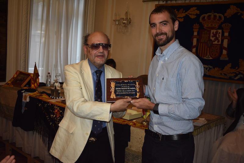 """Premio """"Calle Mayor 2019"""" al Centro riojano de Madrid, como Mejor Casa Regional en Madrid."""