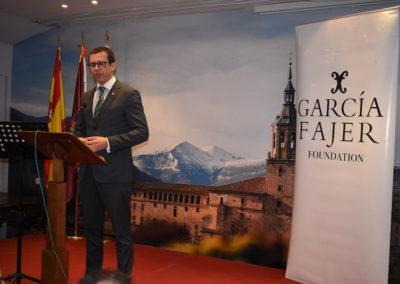 José Antonio Rupérez Caño, presidente del Centro Riojano de Madrid