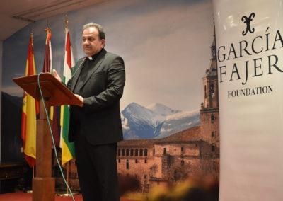Rvo.P. Francisco Suarez, Abad de la Catedral de Sto. Domingo de la Calzada y pregonero de las fiestas