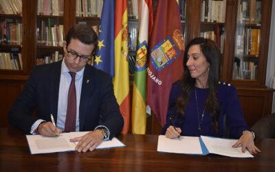 EL CENTRO RIOJANO DE MADRID E ILERNA FORMACIÓN FIRMAN UN CONVENIO DE COLABORACIÓN EN MATERIA EDUCATIVA.